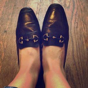 Gucci loafers vintage horsebit